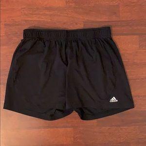 Adidas Black Workout Shorts